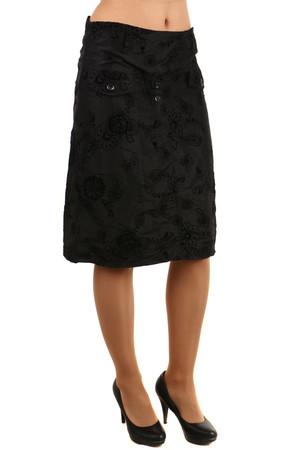 ee46db096a2c Dámská letní midi sukně s květinovým vzorem
