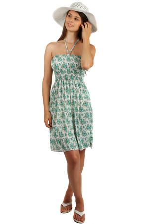 f5df3b135a8 Dámské letní šaty s květy