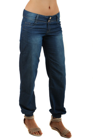 Volné dámské riflové kalhoty eda8930ea6