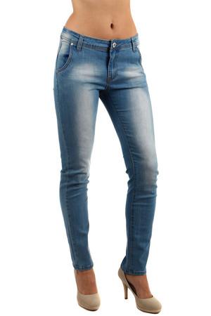 Dámské světlé džíny s šisováním 2ef2592c75