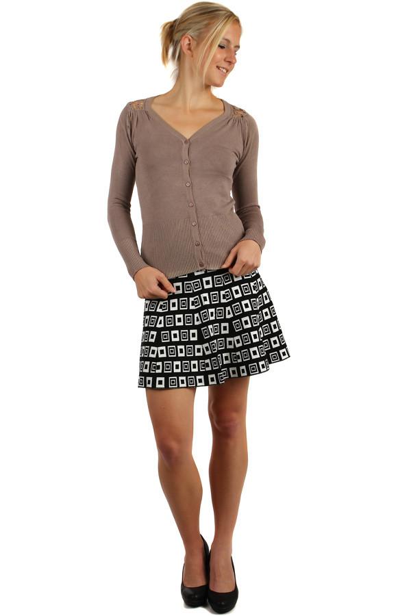 e84ef3d2074 Dámská áčková krátká retro sukně
