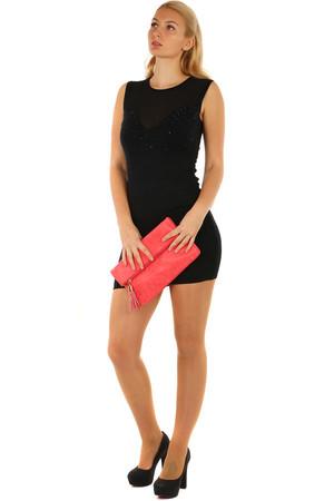 bc13a25bbbe1 Krátké sexy úpletové mini šaty