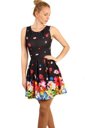 Krátké černé šaty bez rukávu xs výprodej  428a661337