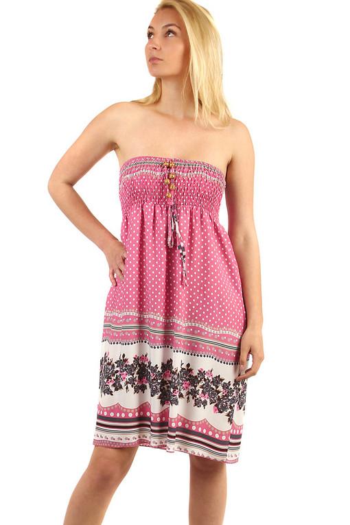 Puntíkované letní šaty  e6af8a537f