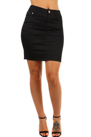 c3308d9cea9e Společenská dámská pouzdrová krátká sukně