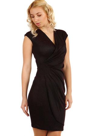 Třpytivé dámské plesové šaty se širokými ramínky ef390e019a