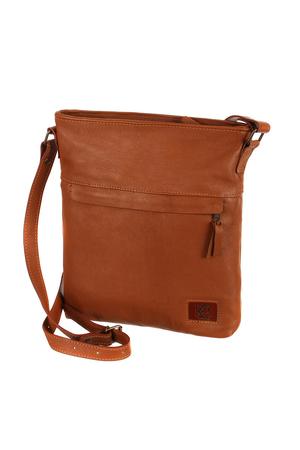 4859e357263 Velká dámská kožená kabelka přes rameno - vyrobeno v České republice