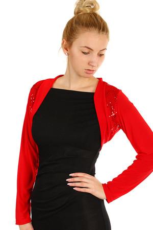 Dámské krátké společenské bolerko na šaty ab6d46875b