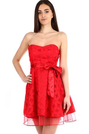 Dámské korzetové šaty s mašlí 099811dcf49