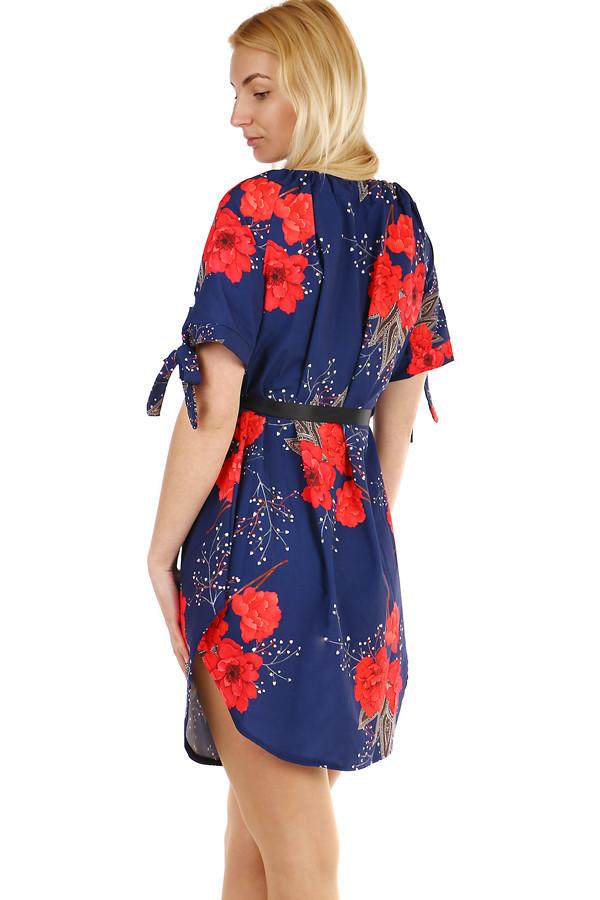Letní dámské krátké šaty bez ramínek  13d290ef2c