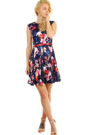 Dámské retro šaty s květinovým vzorem 051bcc7eb4