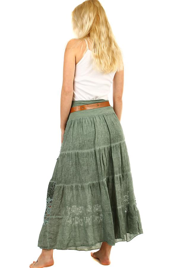 2fabee04fbe9 Letní dlouhá sukně