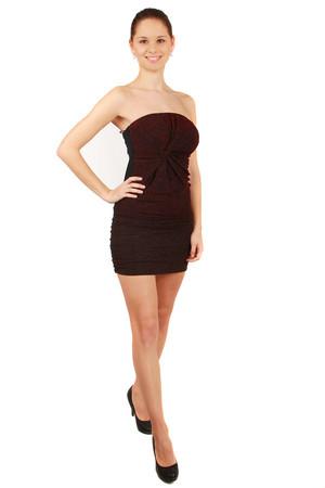 Levné dámské červené společenské šaty xl  99840b9f3d