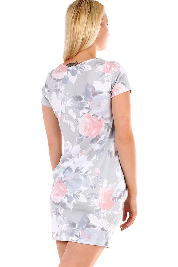 1e4d414e4cf Krátké dámské šaty s potiskem
