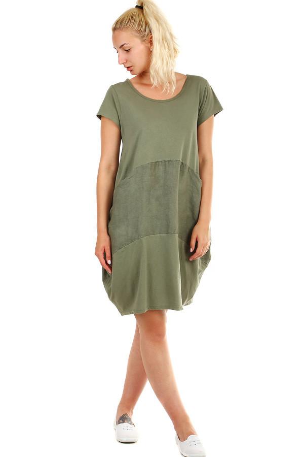 Volné dámské letní šaty na pláž  c0f773f5d1