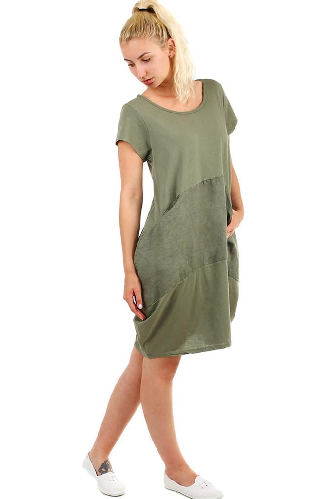 Volné dámské letní šaty na pláž  750e16f3d5