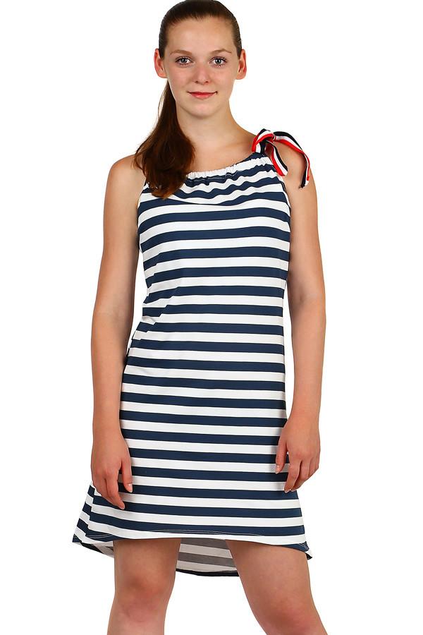 40d184eb374 Dámské pruhované midi šaty