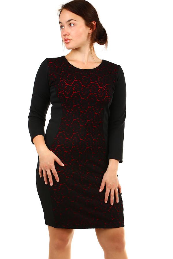 Dámské společenské šaty nadměrná velikost  099f438dce