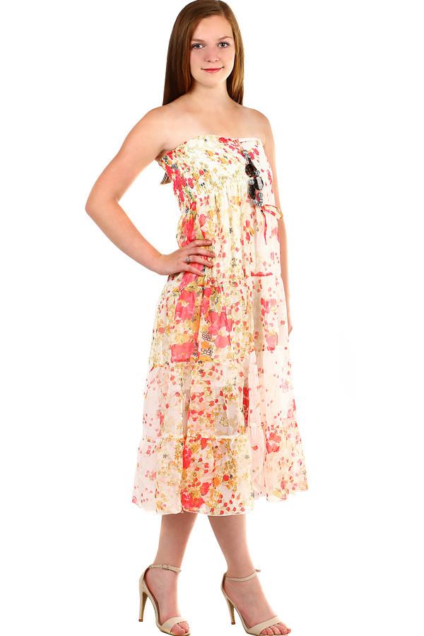 488d3d39e99 Dámské letní dlouhé šaty