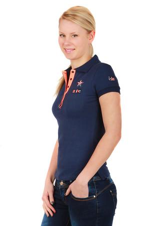 ed34df78e32 Dámské bavlněné tričko s límečkem a krátkým rukávem