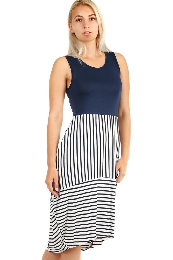 c0c5813d305 Proužkované dámské šaty na léto