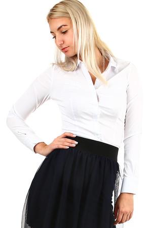 Dámská elegantní bílá košile ce91058009