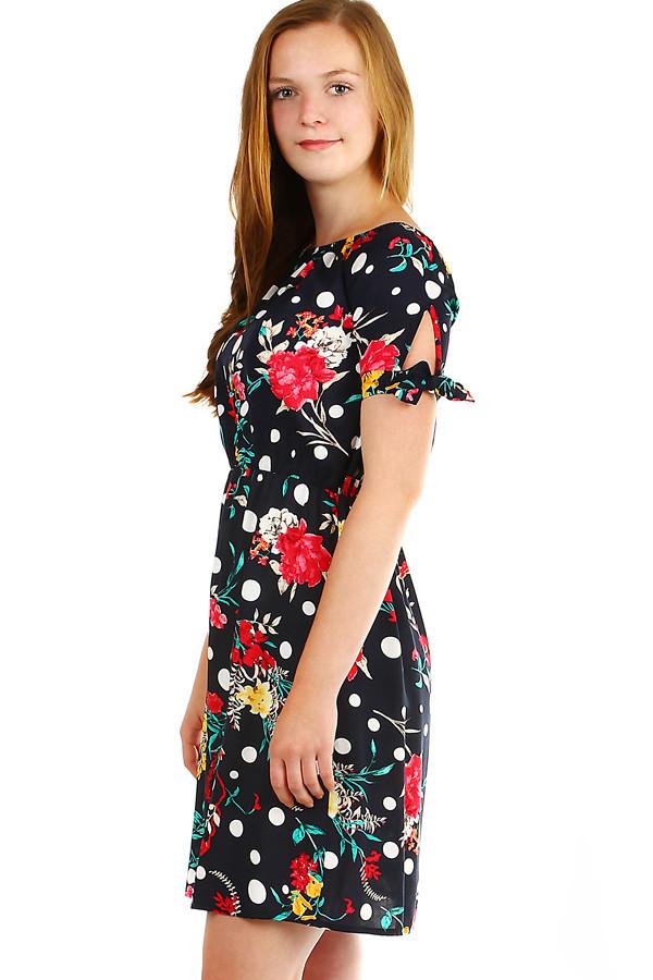 Dámské květované letní šaty  5c16ba22c0