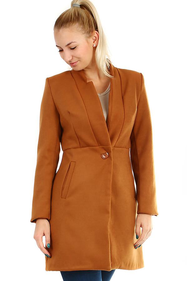 Dámský přechodný kabát áčkového střihu  3240984bbda