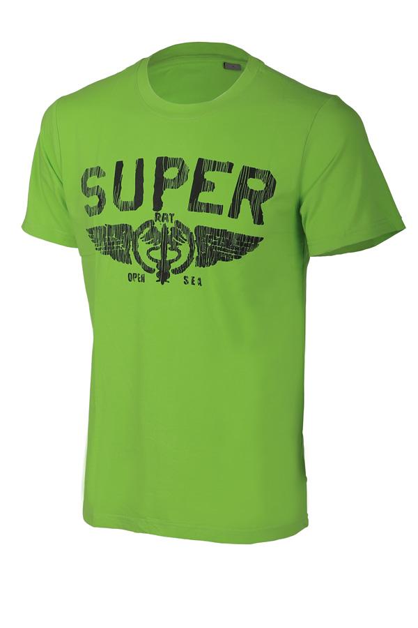 535fa4df992f Pánské bavlněné tričko s krátkým rukávem a potiskem super