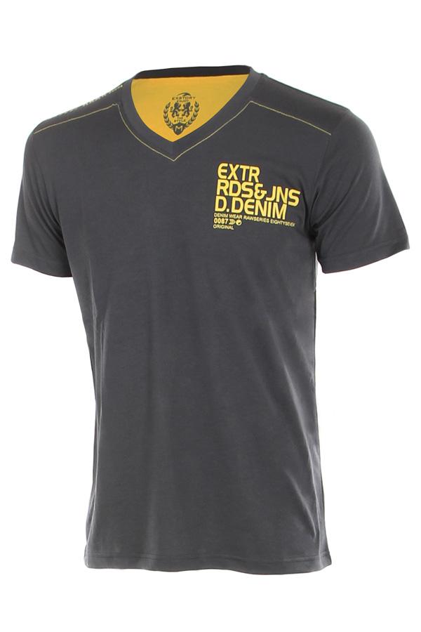 Pánské sportovní tričko s krátkým rukávem a nápisem  8f92630730