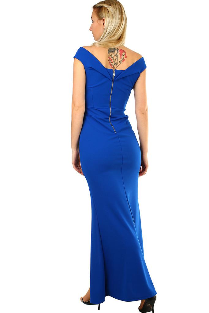 Plesové šaty s rozparkem  3d7b8cf5039