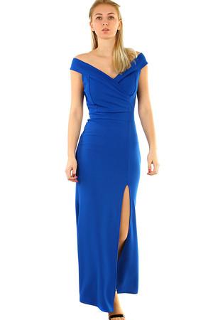 Plesové šaty s rozparkem 59975fe9d4