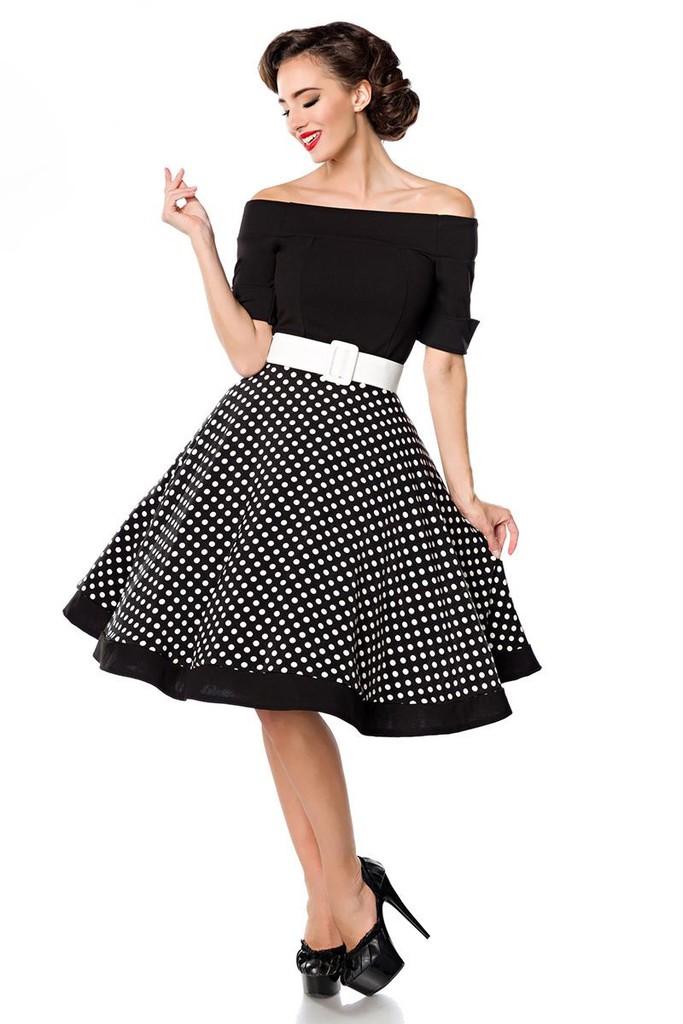 Retro šaty s puntíky  801a7cda8bb