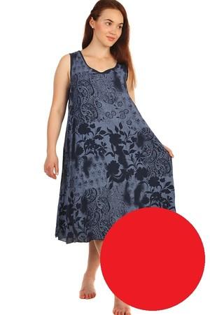 129b2ea5729e Dlouhé červené sportovní letní šaty