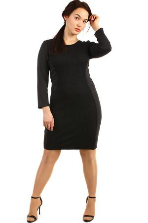 Společenské černé dámské šaty 3b5a9f1b3a