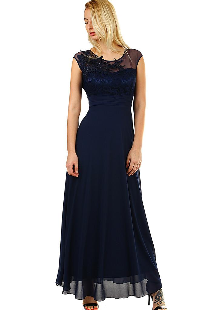 a4214be889bf Dlouhé dámské šaty na ples