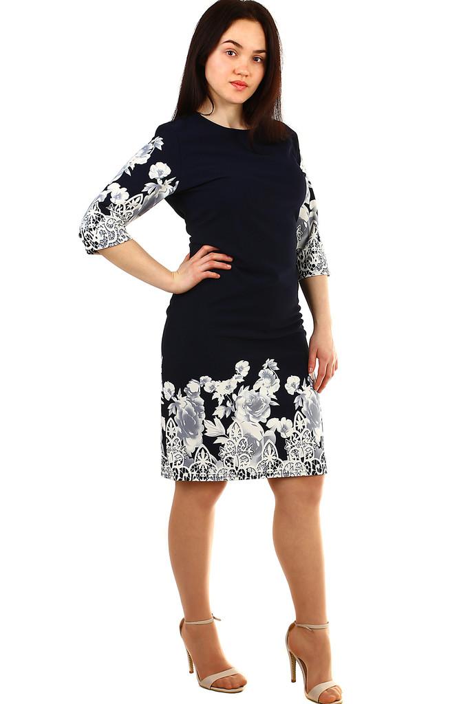 b146142298fb Společenské dámské šaty s ornamenty