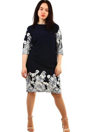 70e7a5b9b496 Společenské dámské šaty s ornamenty