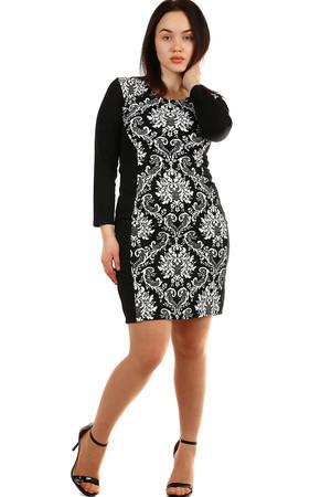 36cb4915975f Večerní společenské šaty pro plnoštíhlé zeštíhlující