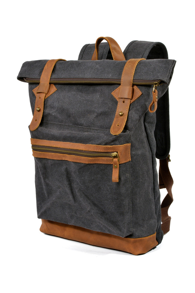 c701edeaff Velký nepromokavý retro batoh