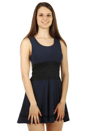 8d68567a5de Modré společenské šaty xl výprodej