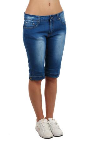 Dámské džínové tříčtvrteční kalhoty e57919a595