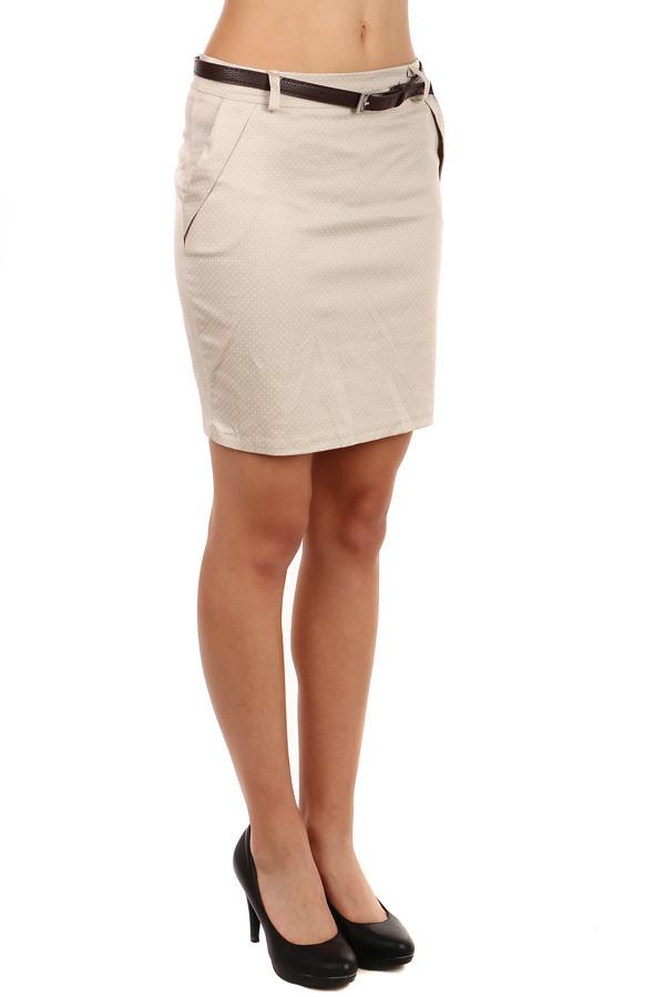 Dámská pouzdrová jednobarevná midi sukně  9ed32d51de