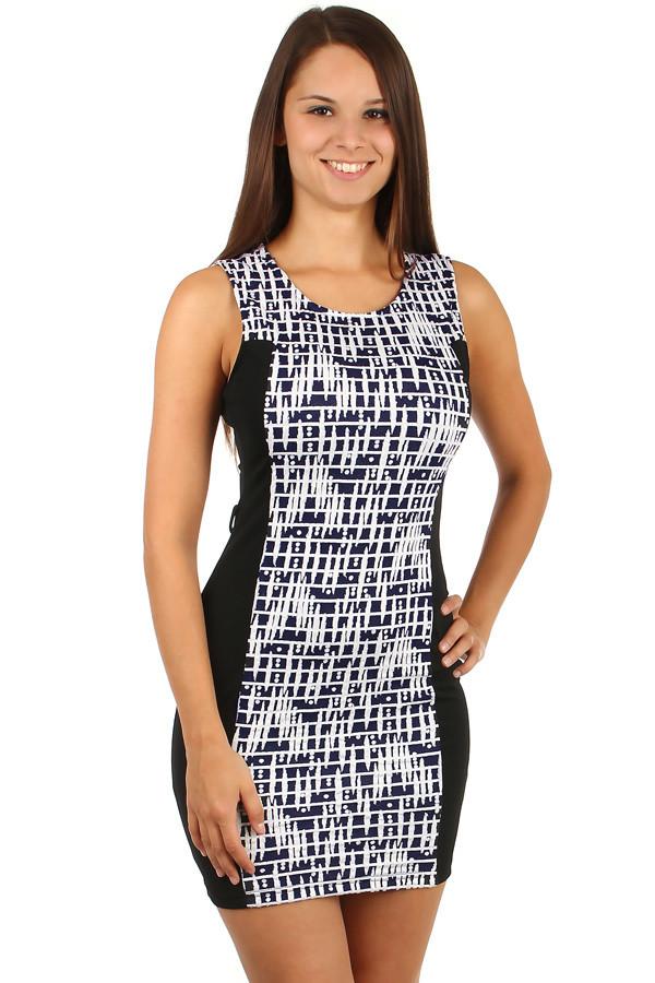 e38478a4ab9b Krátké vzorované šaty