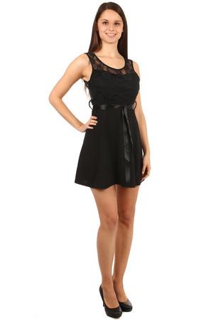 351c6b775437 Levné krátké černé plesové společenské šaty